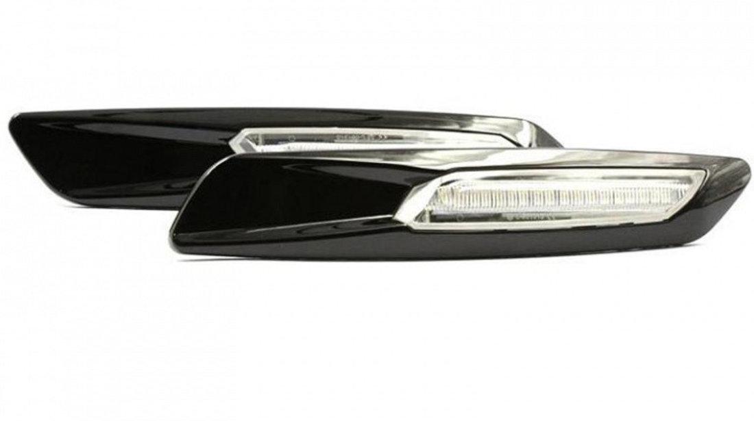 Semnalizatoare Aripa cu LED, Transparente, BMW Seria 5 E60