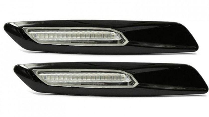Semnalizatoare Aripa cu LED, Transparente, BMW Seria 3 E46