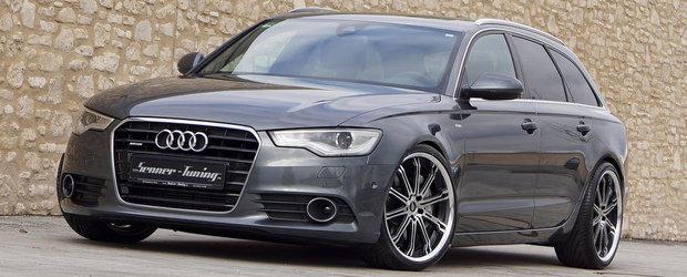 Senner Tuning ii insufla un plus de agresivitate noului Audi A6 Avant