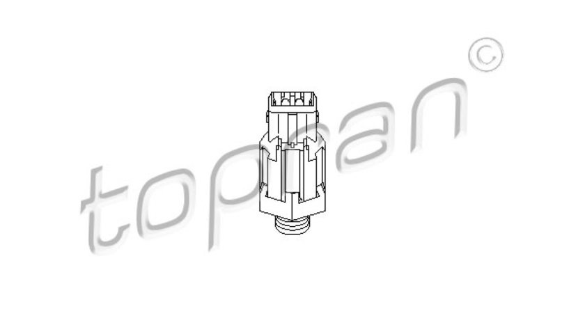 Senor batai RENAULT CLIO I B/C57 5/357 Producator TOPRAN 207 825