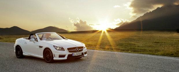 Senzatii tari in aer liber: Mercedes dezvaluie noul SLK55 AMG