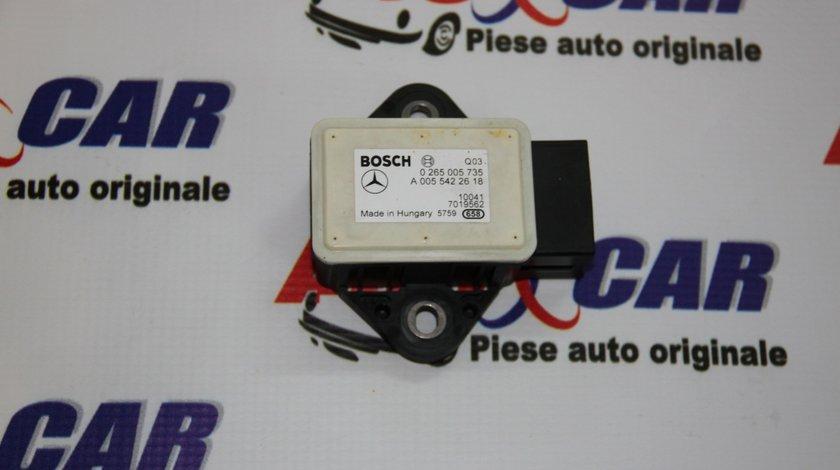 Senzor acceleratie Mercedes E-Class W212 3.0 CDI cod: A0055422618 model 2012