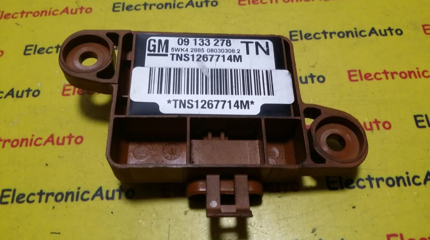 Senzor airbag Opel Astra G 09133278, 5WK42885