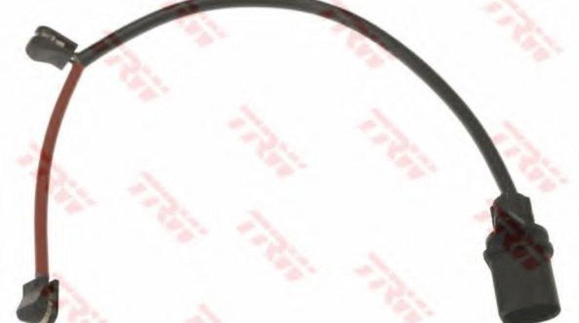 Senzor de avertizare,uzura placute de frana AUDI A7 Sportback (4GA, 4GF) (2010 - 2016) TRW GIC360 produs NOU