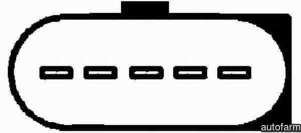 Senzor Debitmetru Aer AUDI A3 (8P1) HELLA 8ET 009 142-571