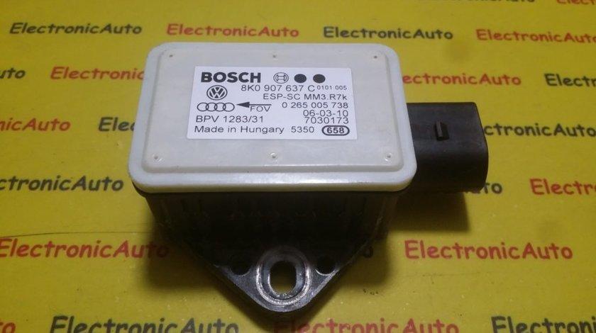 Senzor ESP Audi A4 8K A5 8K0907637C, 0265005738