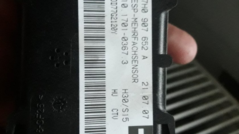 Senzor ESP Audi Q7 VW Touareg 7H0907652A 2007 MOTOR quattro 3.0 TDI BU