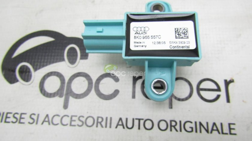 Senzor impact lateral Audi A5 8T, A4 8K , Q5 8R cod 8K0955557C