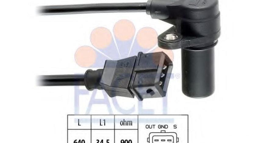 Senzor impulsuri, arbore cotit ALFA ROMEO GTV (916C_) (1994 - 2005) FACET 9.0155 piesa NOUA