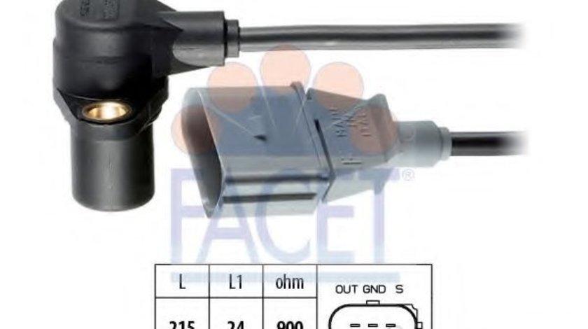 Senzor impulsuri, arbore cotit AUDI A6 (4F2, C6) (2004 - 2011) FACET 9.0241 produs NOU