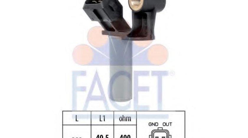 Senzor impulsuri, arbore cotit FORD MONDEO III (B5Y) (2000 - 2007) FACET 9.0307 piesa NOUA