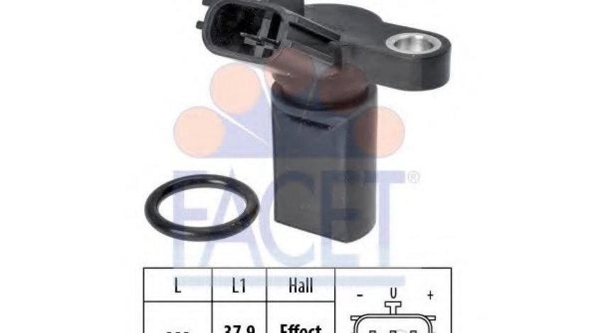 Senzor impulsuri, arbore cotit NISSAN PRIMERA Hatchback (P11) (1996 - 2002) FACET 9.0453 piesa NOUA