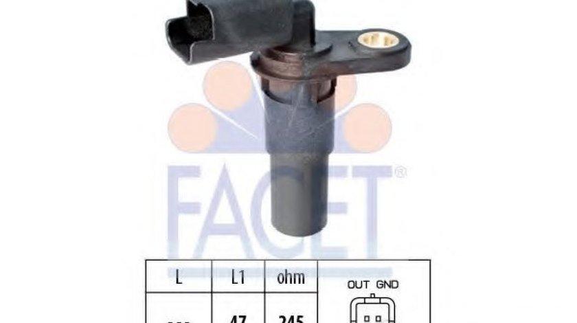 Senzor impulsuri, arbore cotit RENAULT CLIO III (BR0/1, CR0/1) (2005 - 2012) FACET 9.0536 produs NOU