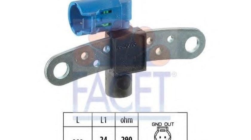 Senzor impulsuri, arbore cotit RENAULT CLIO III Grandtour (KR0/1) (2008 - 2012) FACET 9.0540 produs NOU