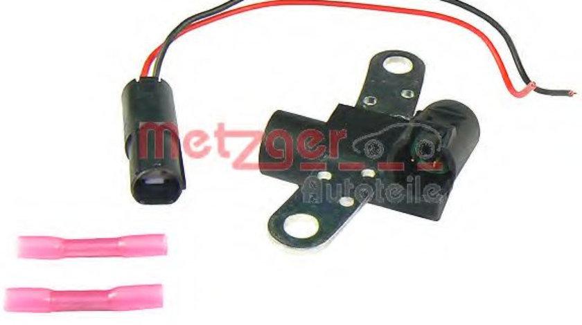 Senzor impulsuri, arbore cotit RENAULT MEGANE II (BM0/1, CM0/1) (2002 - 2011) METZGER 0902222 piesa NOUA