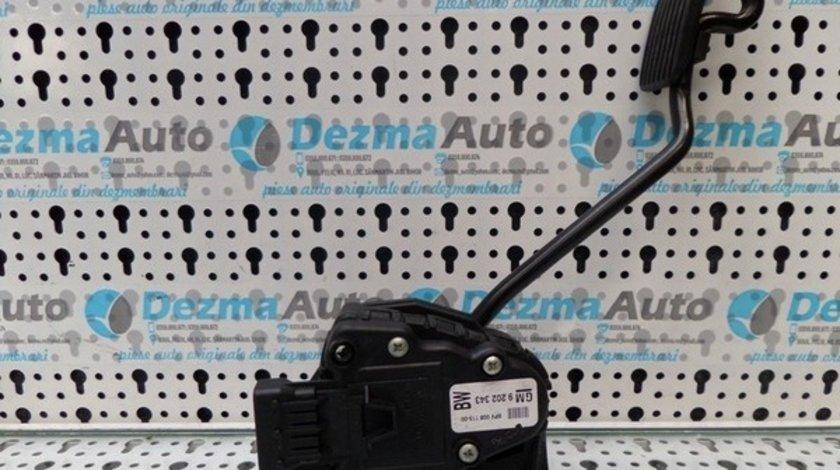 Senzor pedala acceleratie GM9202343, Opel Astra H, 1.9cdti