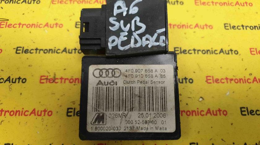 Senzor Pedala Ambreiaj Audi A6 C6, 4F0907658A03, 4F0910658A05