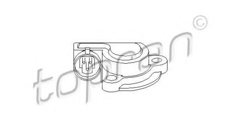 Senzor, pozitie clapeta acceleratie OPEL ASTRA G Combi (F35) (1998 - 2009) TOPRAN 206 028 piesa NOUA