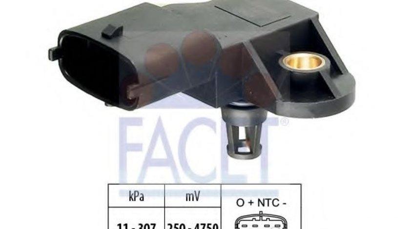 Senzor presiune aer FIAT CROMA (194) (2005 - 2016) FACET 10.3082 piesa NOUA