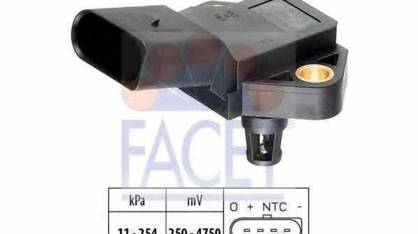 Senzor presiune aer galerie admisie VW TRANSPORTER IV bus 70XB 70XC 7DB 7DW Producator FACET 10.3083