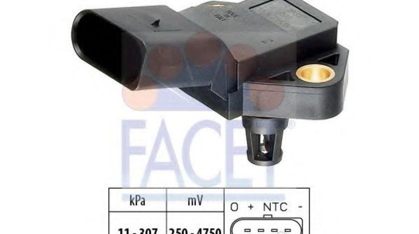 Senzor presiune aer VW GOLF V (1K1) (2003 - 2009) FACET 10.3075 piesa NOUA
