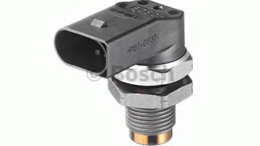 Senzor, presiune combustibil BMW Seria 6 (E63) (2004 - 2010) BOSCH 0 281 002 497 produs NOU