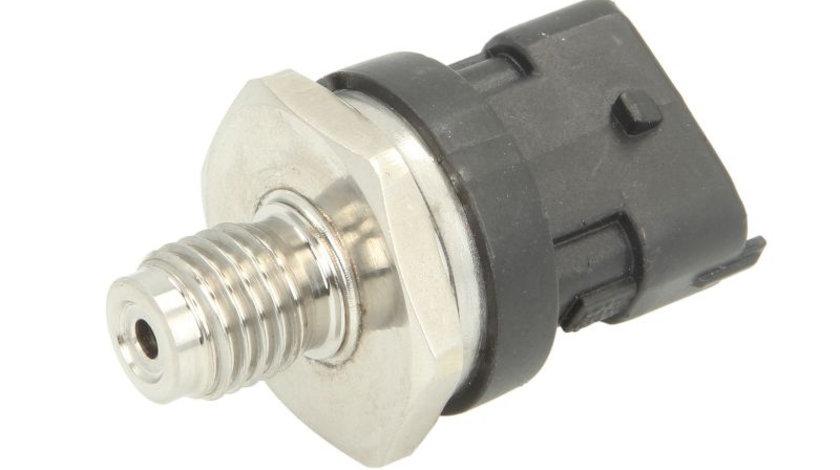 Senzor presiune combustibil MAN TGA; RVI KERAX, MIDLUM, PREMIUM, MASCOTT; IVECO DAILY III; ALFA ROMEO 145, 146, 147, 156, 166; BMW Seria 3 (E46), 5 (E39), 7 (E38), X5 (E53); CITROEN JUMPER 1.5D-6.2D d