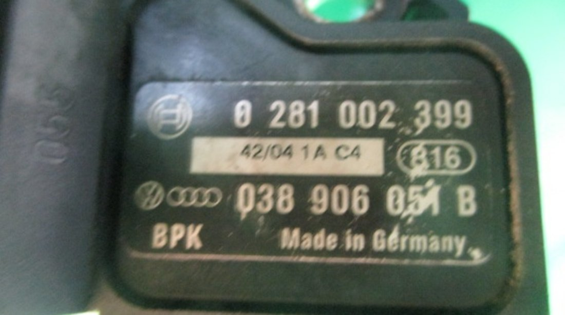 SENZOR PRESIUNE GALERIE ADMISIE / AER VW GOLF 5 FAB. 2003 - 2009 1.9 TDI 105cp 77kw ⭐⭐⭐⭐⭐