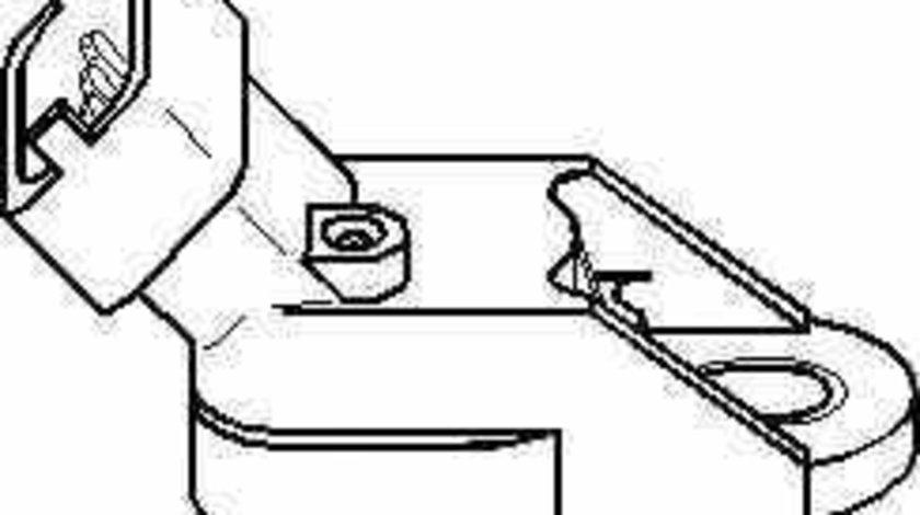 Senzor presiune galerie admisie OPEL ASTRA G hatchback F48 F08 TOPRAN 206 951