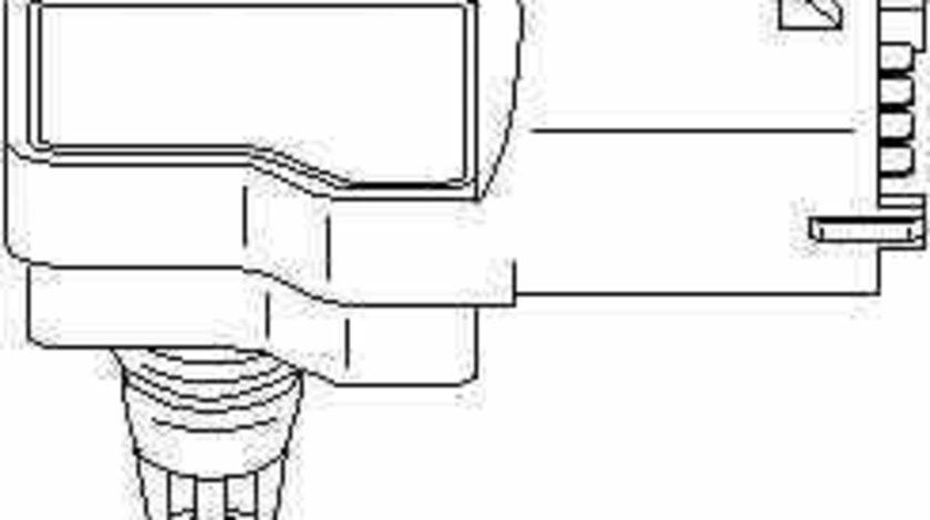 Senzor presiune galerie admisie OPEL ASTRA H TwinTop L67 TOPRAN 207 426