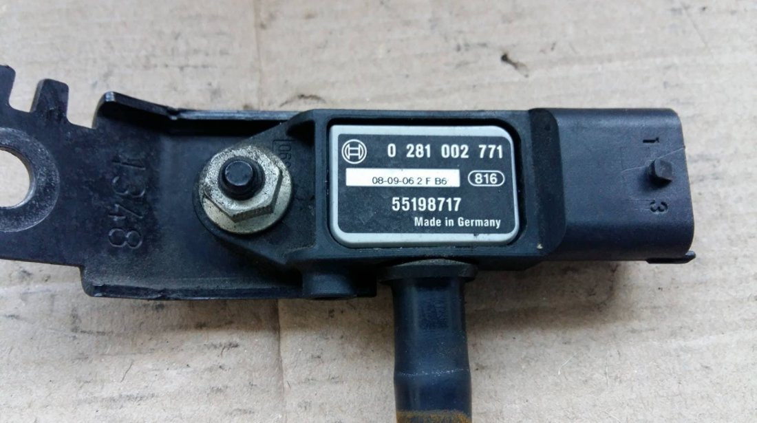 Senzor presiune gaze opel agila astra h corsa d zafira b 0281002771