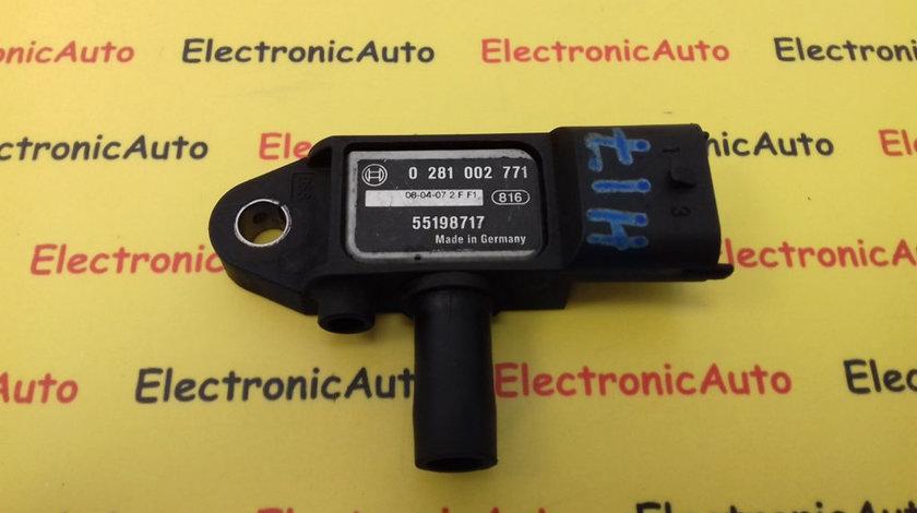 Senzor Presiune Gaze Opel Astra H, 0281002771
