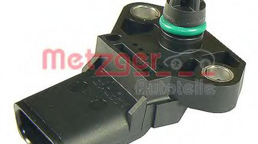 Senzor,presiune supraalimentare VW LT II platou / sasiu (2DC, 2DF, 2DG, 2DL, 2DM) (1996 - 2006) METZGER 0906094 piesa NOUA