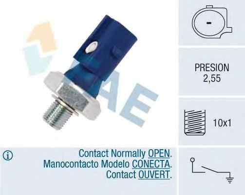Senzor presiune ulei VW SCIROCCO 137 138 FAE 12875