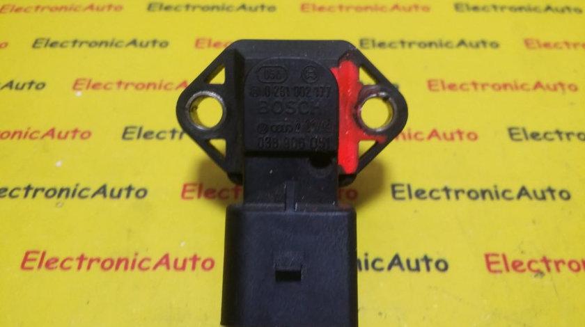Senzor Presiune VW, 0261002177, 038906051