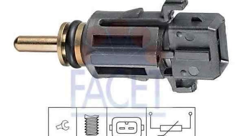 Senzor,temperatura lichid de racire BMW 1 (E87) FACET 7.3279