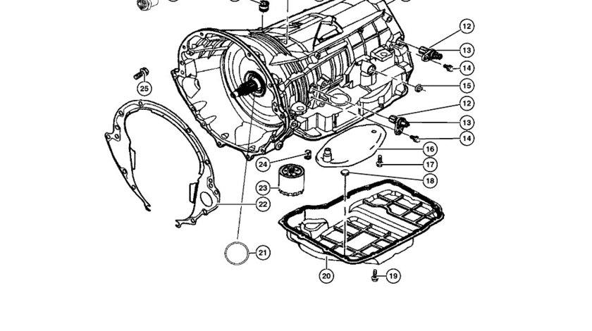 Senzor turatie cutie viteza Grand Cherokee (poz.13) CHRYSLER OE 04799061AB