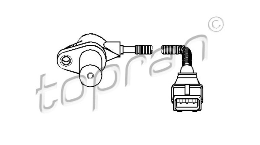 senzor turatie,management motor CITROËN JUMPER platforma / podwozie (230) Producator TOPRAN 721 683