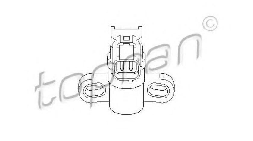 Senzor turatie,management motor FORD FIESTA V (JH, JD) (2001 - 2010) TOPRAN 302 649 piesa NOUA
