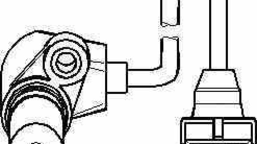 Senzor turatie management motor OPEL KADETT E Cabriolet 43B TOPRAN 205 887
