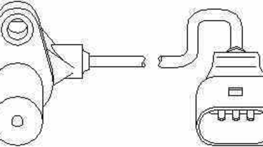 senzor turatie management motor VW POLO 9N TOPRAN 111 376