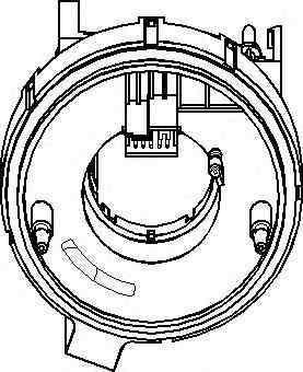 Senzor unghi bracaj SEAT LEON 1M1 TOPRAN 112 409