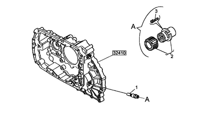 Senzor viteza cutie viteza pentru tahograf Magnum (poz.1) RENAULT TRUCKS 5010614102