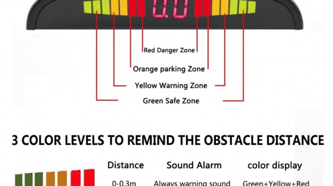 Senzori de parcare cu Led si avertizare sonora