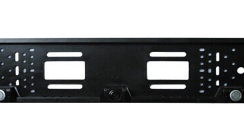 Senzori parcare si camera mers inapoi ART in suportul de numar cu 2 senzori si 1 camera video