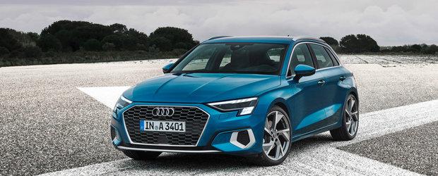 Seria 1 si A-Class, uitati-va rivalul de moarte. Noul Audi A3 Sportback este aici!