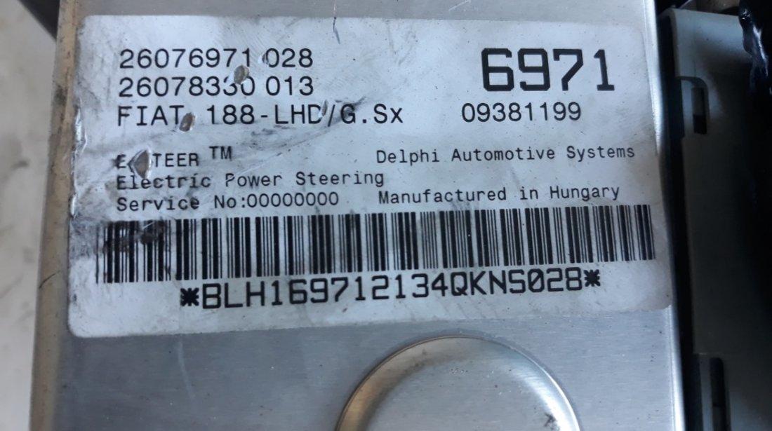 Servocity coloana directie calculator servo si pompa fiat punto 188 26076971028 26078330013 09381199