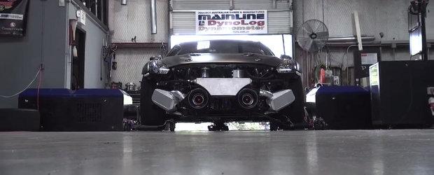 Sesiune dyno cu cel mai puternic Nissan GT-R al planetei.