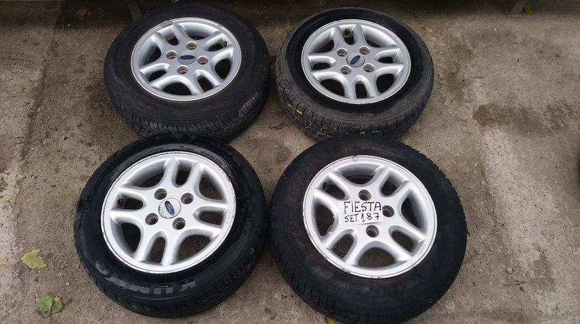 Set 187 - Jante aliaj Ford Fiesta, R13, 4 x 108, an fabricatie 2003 - cod FOR-4A-31