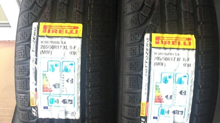 Set 2 anvelope iarna Noi 205/50R17 Pirelli SottoZero 2 RunFlat MO